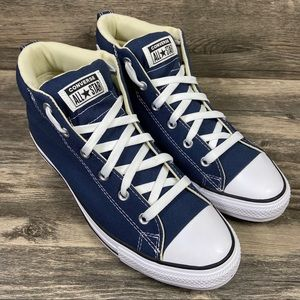 NEW Converse Chuck Taylor Cushioned Navy High Tops